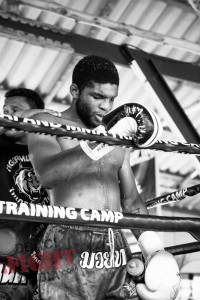 Paul Sextex Daley at Tiger Muay Thai